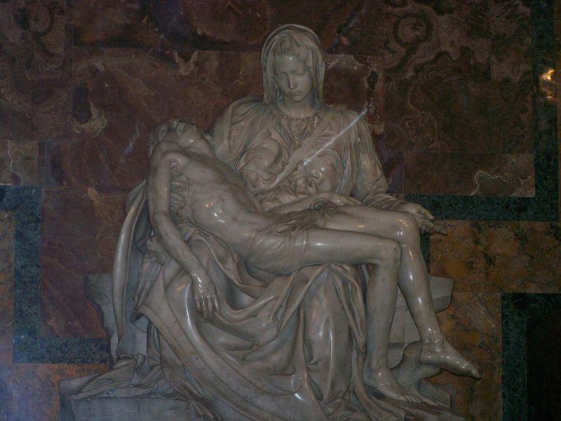 La pieta au vatican rome