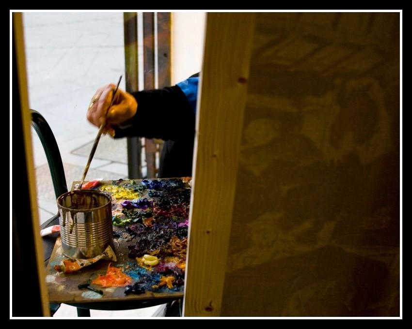 La pittrice