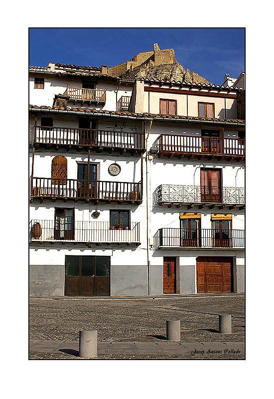 La Plaça dels Estudis. Morella (País Valencià)