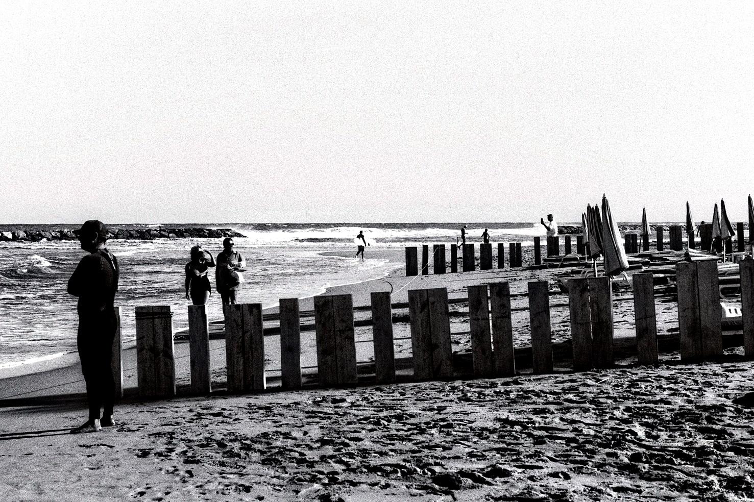 la plage à l'argentique 2