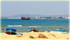 La plage de Hammamet Nord