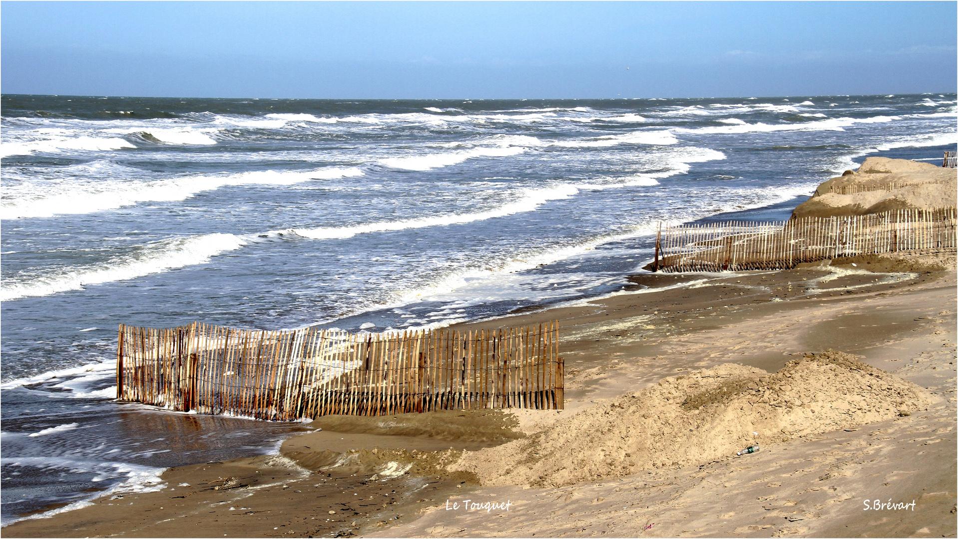 La plage du Touquet (62)
