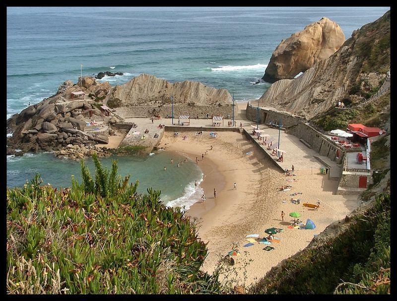 La Plage...le Silence du mer....houles.!!!!!!!! Portugal