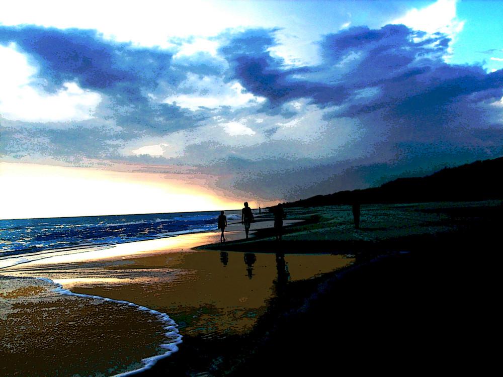 La playa de carol