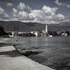 La playa de Kastela - I