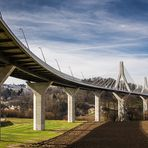 La Poya Brücke in Fribourg