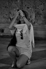 La priere de la photographe