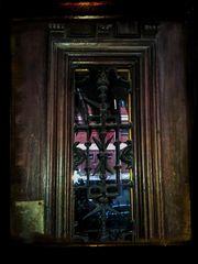 La puerta de madera