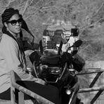 La ragazza e la Motocicletta