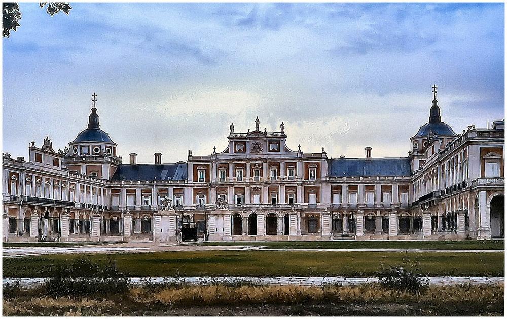 La Reggia di Aranjuez...... portone principale.