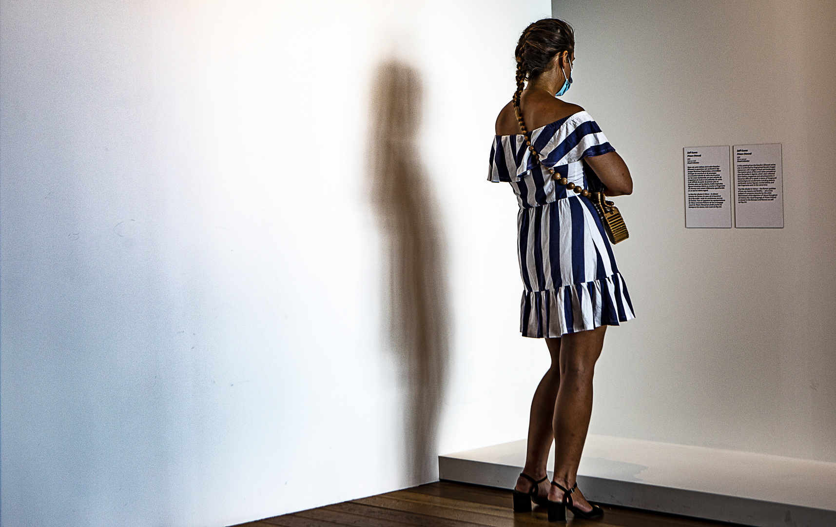 La robe à rayures