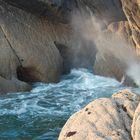 la roccia che sbuffa