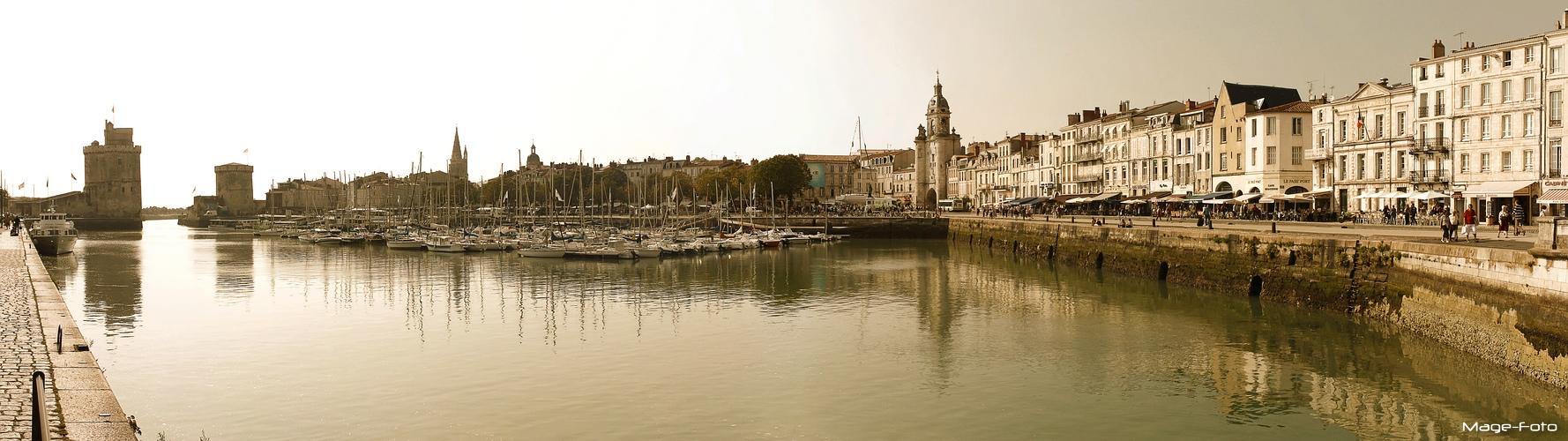 La Rochelle - Alter Hafen Panorama