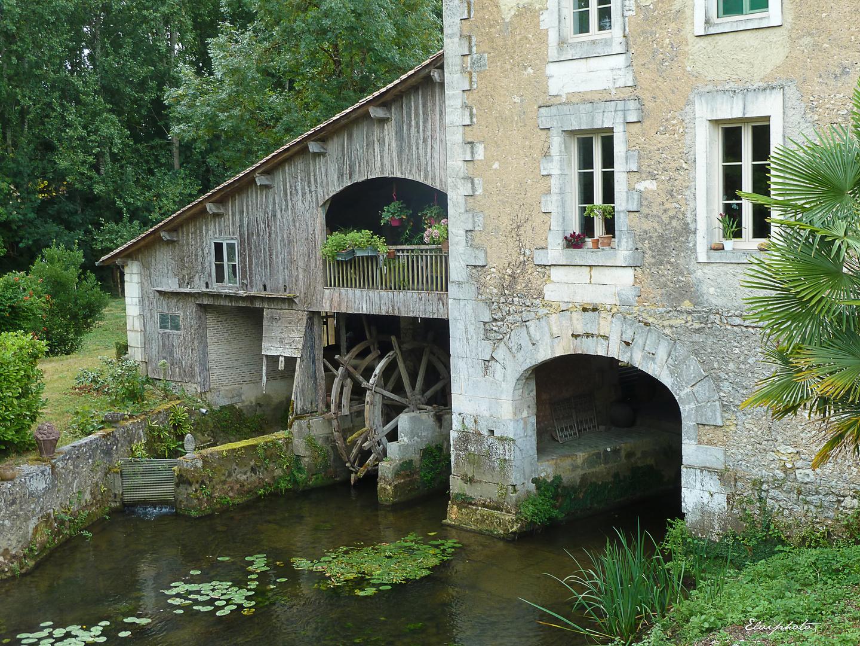 La roue du moulin