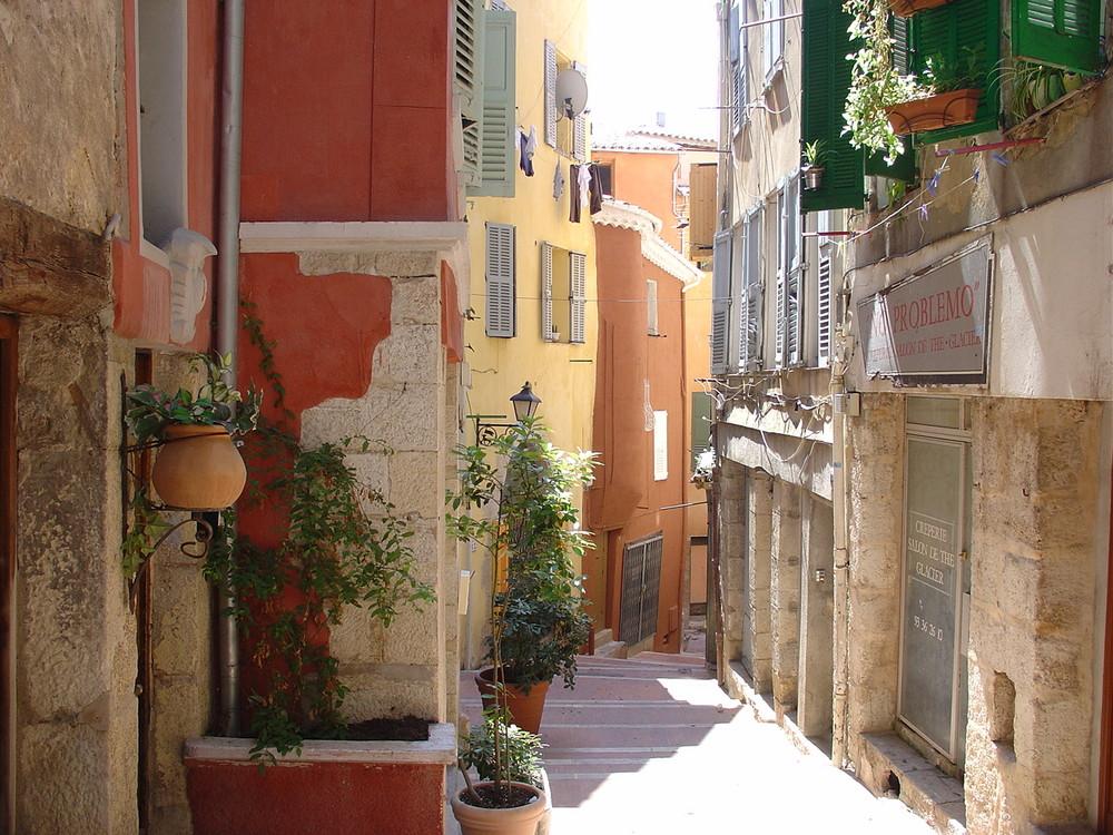 La rue de la Fontette à Grasse