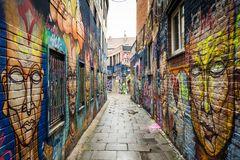 La ruelle aux graffitis