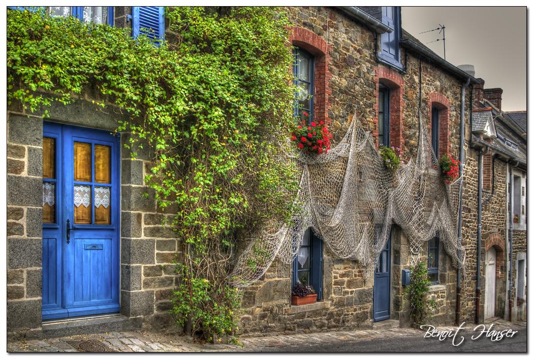 La ruelle de Saint-Suliac