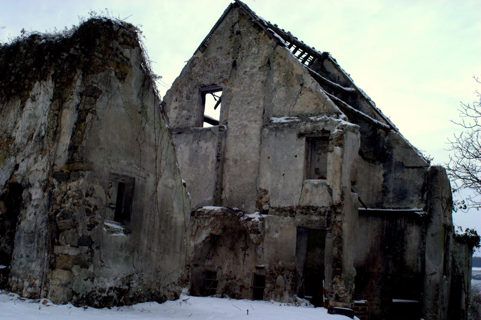 la ruine sans toit