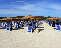 La sabbia bianca della Sardegna