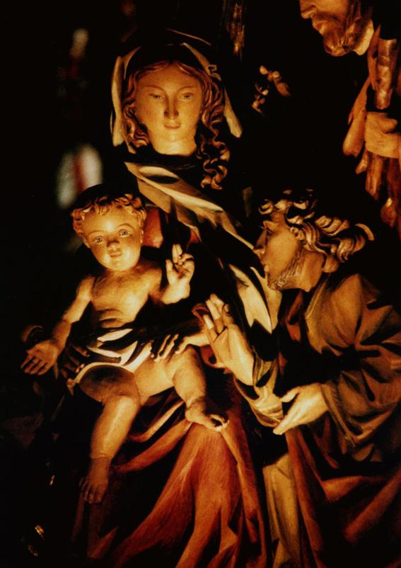 Immagini Natale Sacre.La Sacra Famiglia Natale 2007 Foto Immagini Humour