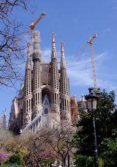 La Sagrada Familia, Barcelone ....