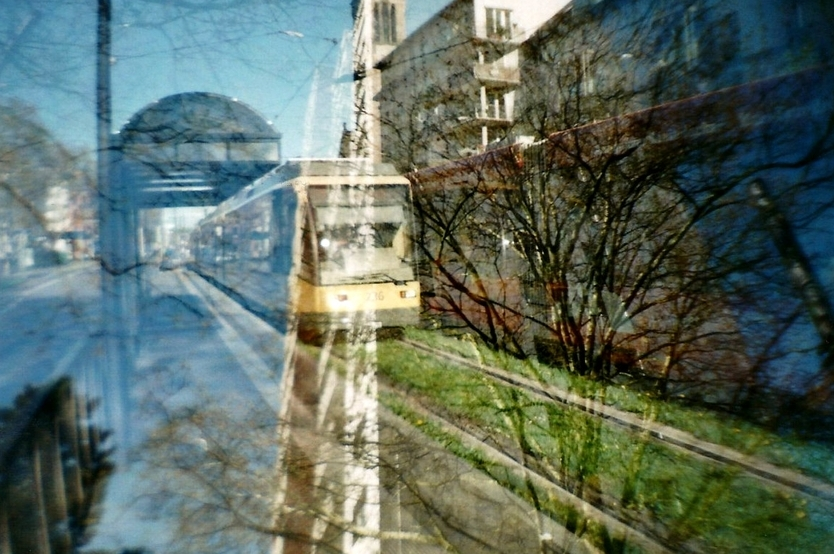 La Sardina Kamera, Doppelbelichtung, analog