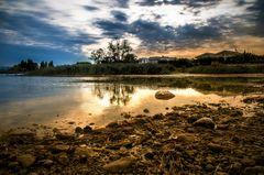 ..la secca del lago..