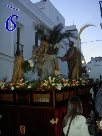 La Semana Santa en Tarifa (Domingo de Ramos)