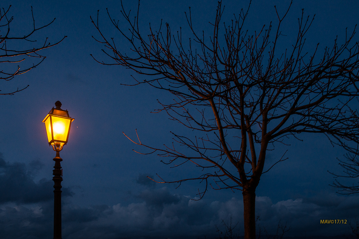 La sera e l'Assenza