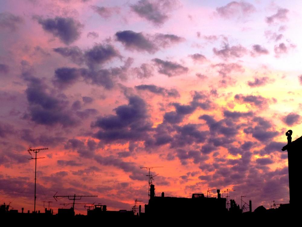La silhouette des toits marseillais