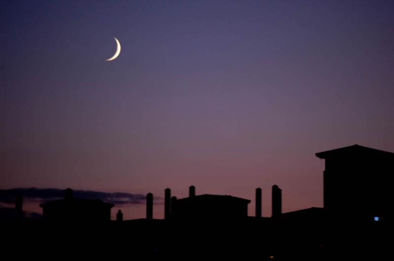 La sonrisa de la Luna.-