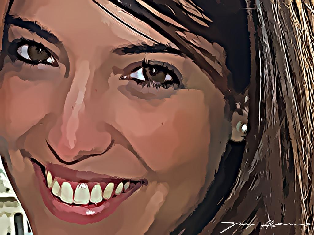 La sonrisa de Yolanda