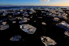 la spiaggia dei diamanti