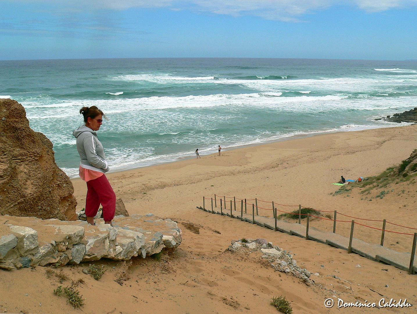 La spiaggia di Scivu (Arbus)