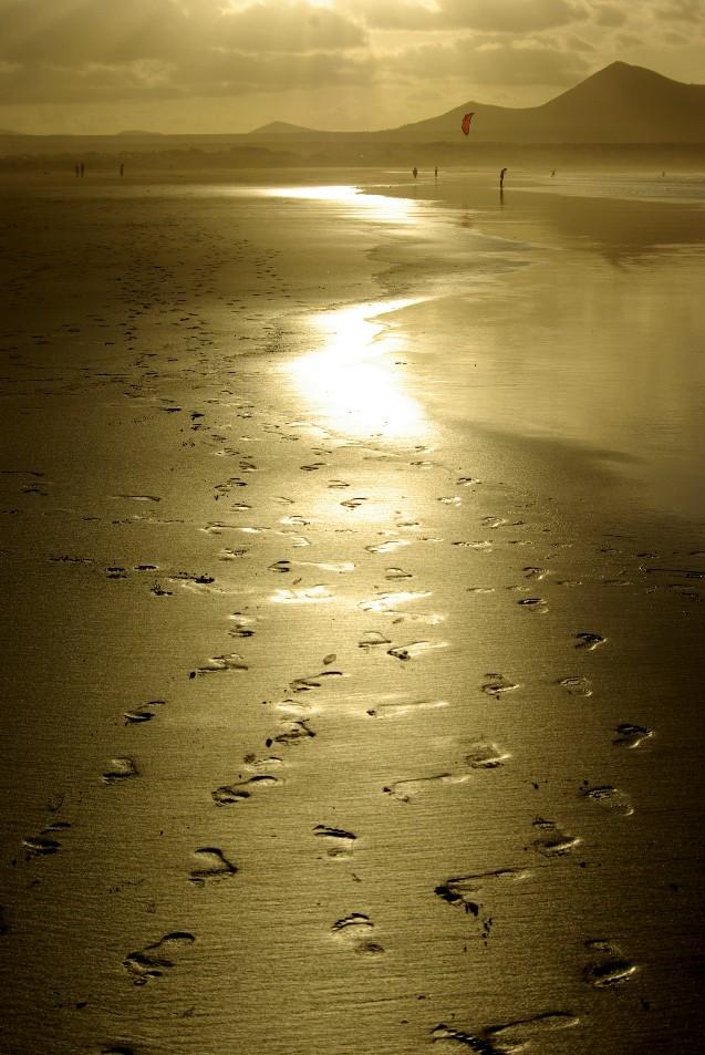 la spiaggia incantata.