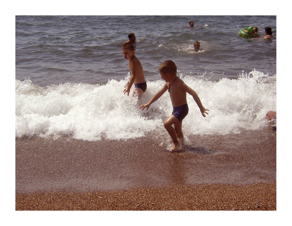 la spiaggia rossa