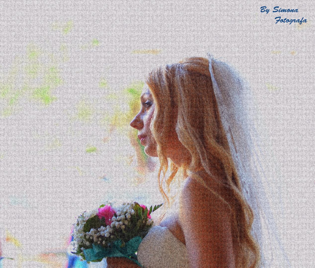 La sposa.