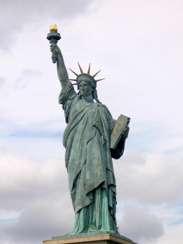 la statua della libertà francese =)