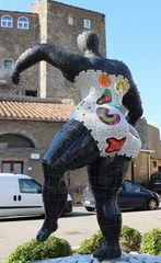 La statua di Niki De Saint Phalle a Capalbio