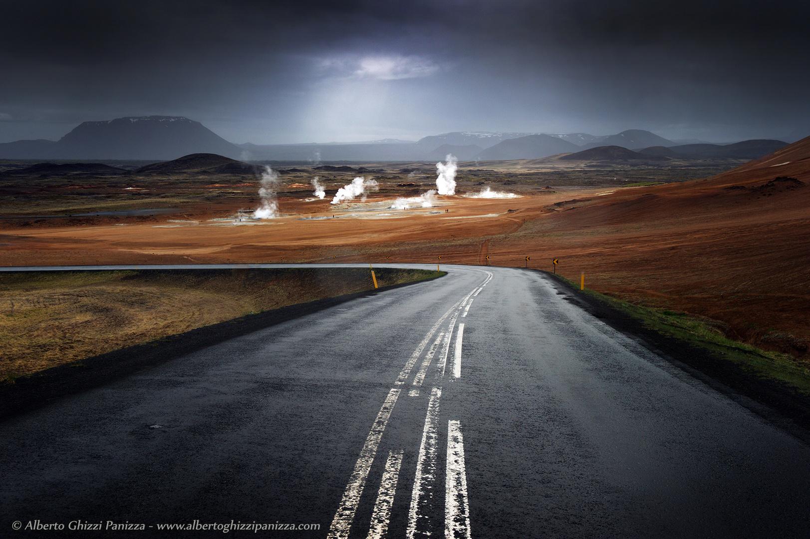 La strada che brucia