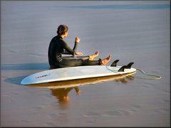 La surfista