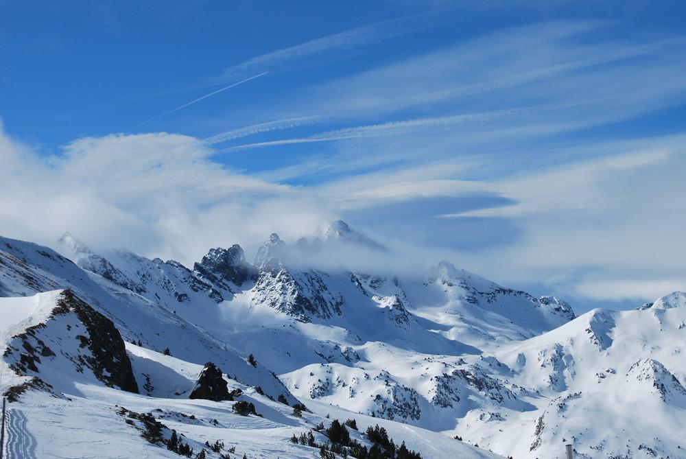 la téte dans les nuages