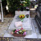 La tombe d'Yves Montand et de Simone Signoret