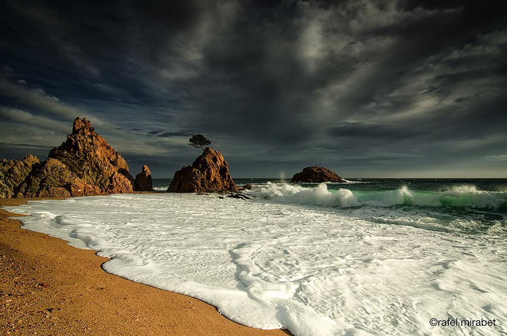la tormenta se va...(the storm is gone..)