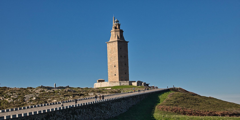 La Torre di Hercules A Coruna (Spain)