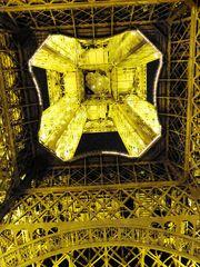 La tour Eiffel sens dessus-dessous
