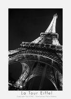 La Tour Eiffel sw -Copyright Tour Eiffel - Illuminations Pierre Bideau