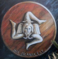 ...la Trinacria, simbolo della Sicilia...