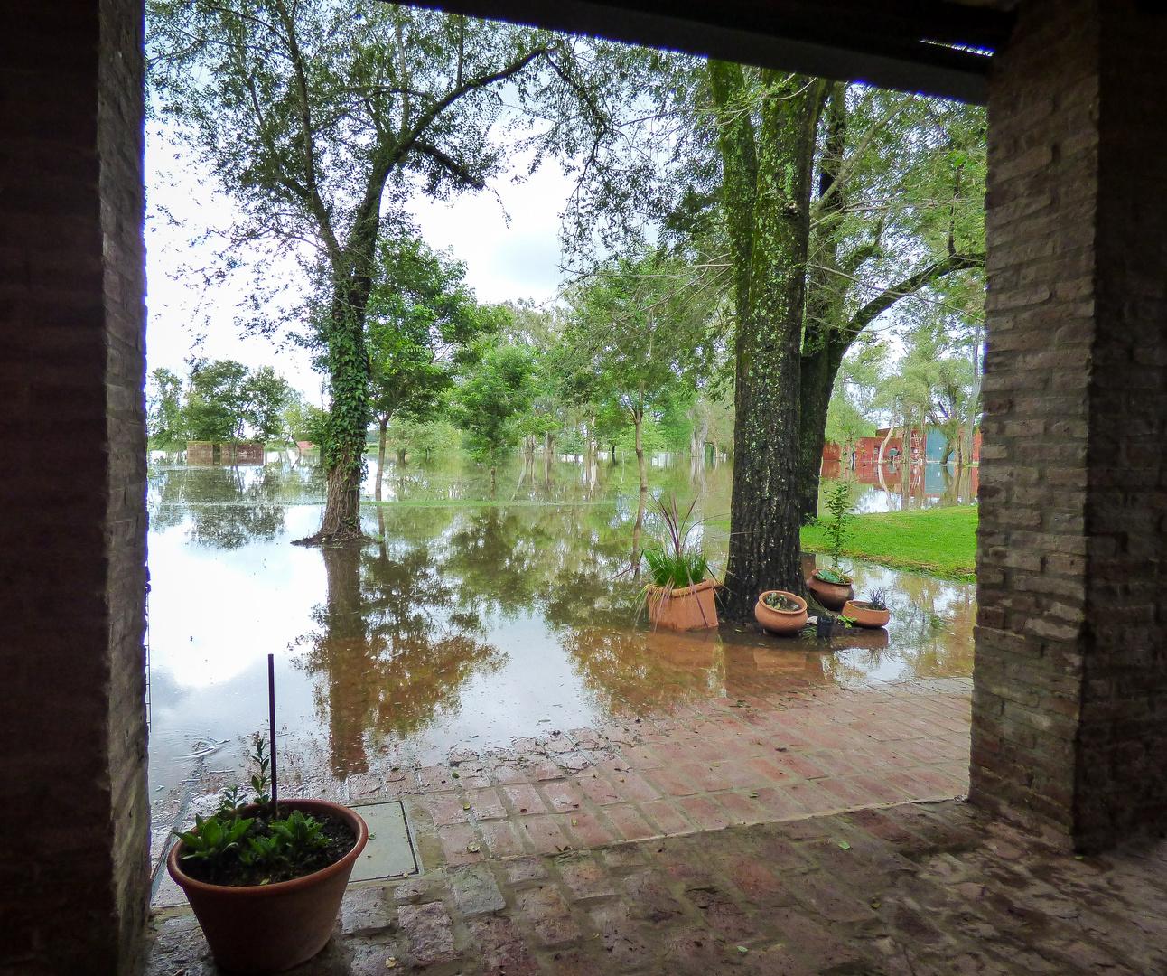 La tristeza de la inundación