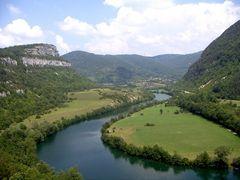 La vallée de l' Ain